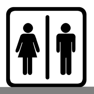 Universal Restroom Clipart.