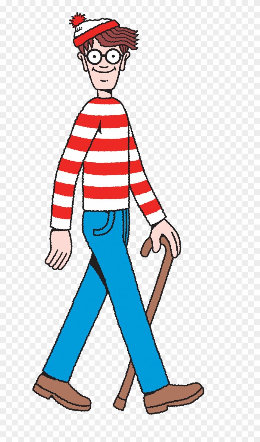 Where\'s Waldo Transparent Clipart (#4505806).