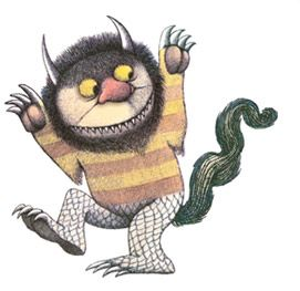Where The Wild Things Are Monster Clipart.