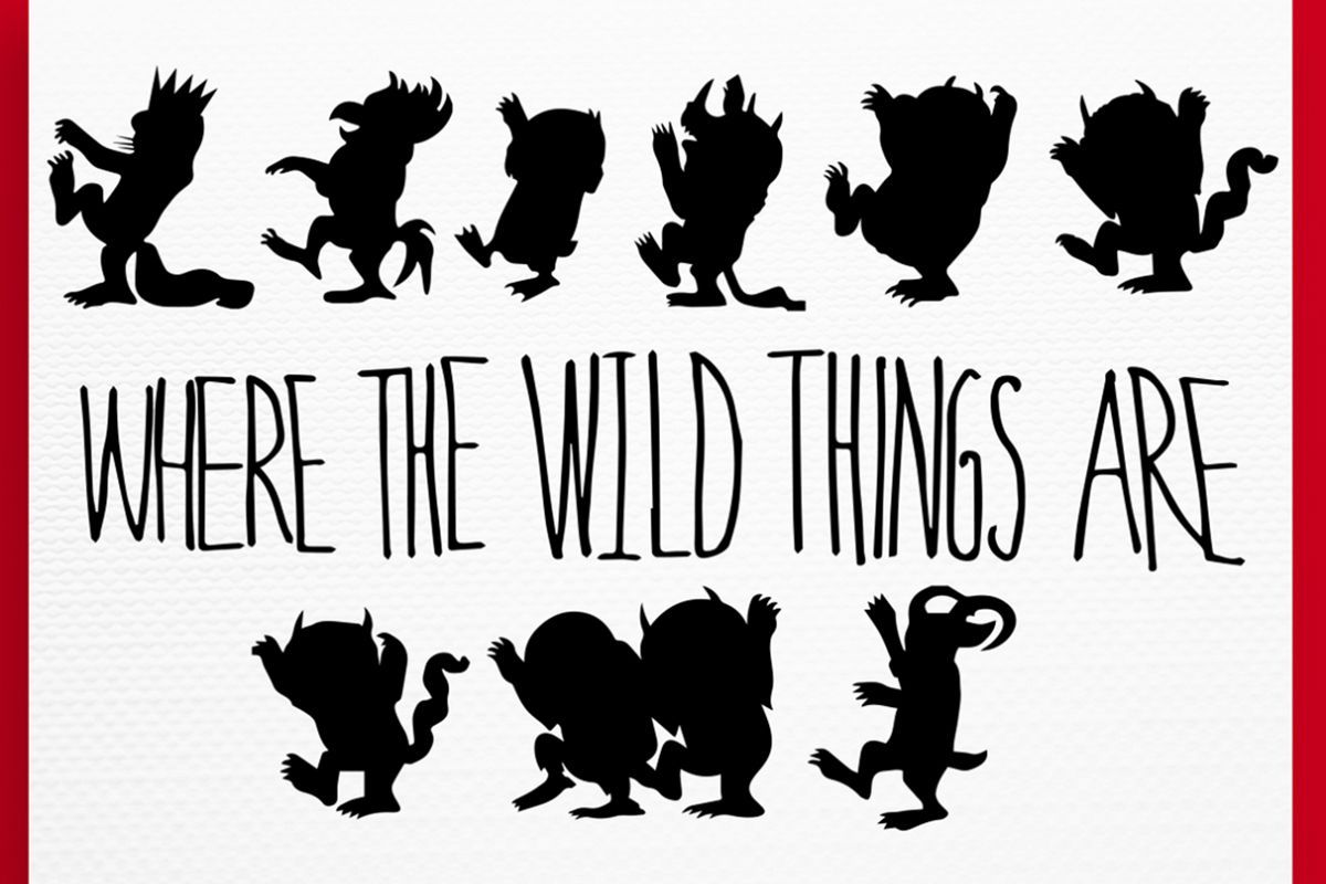 Where the wild things are clipart 4 » Clipart Portal.