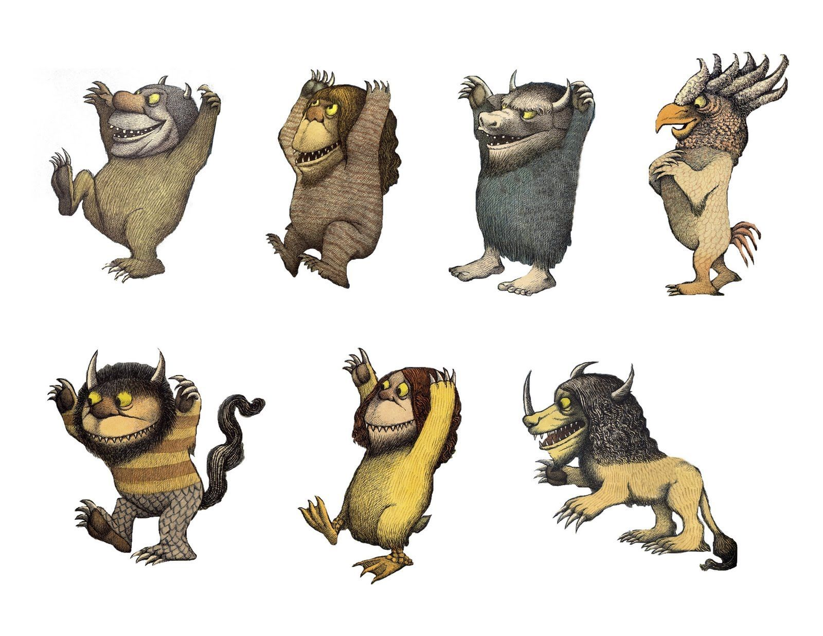 Image result for where the wild things are free printables.