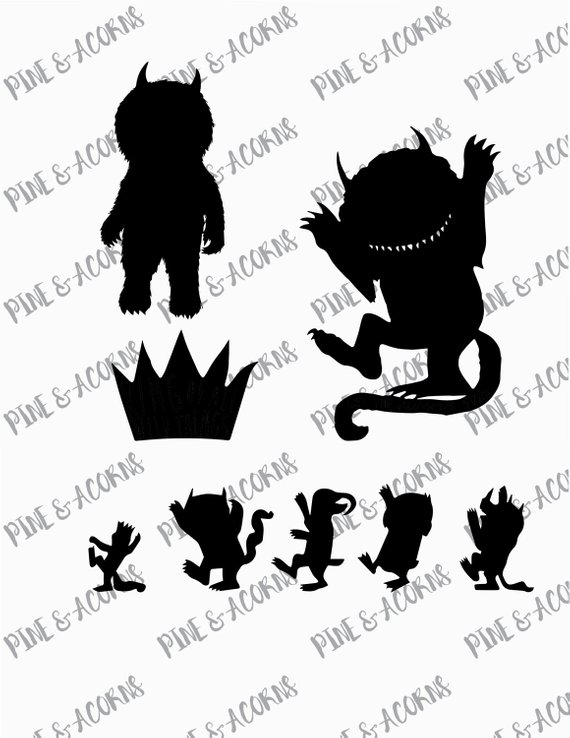 Where The Wild Things Are Silhouette Png , (+) Pictures.