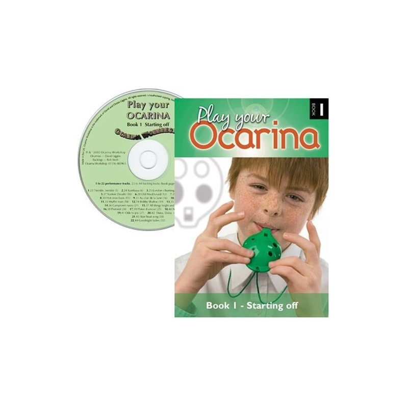 Play Your Ocarina Books and CDs.