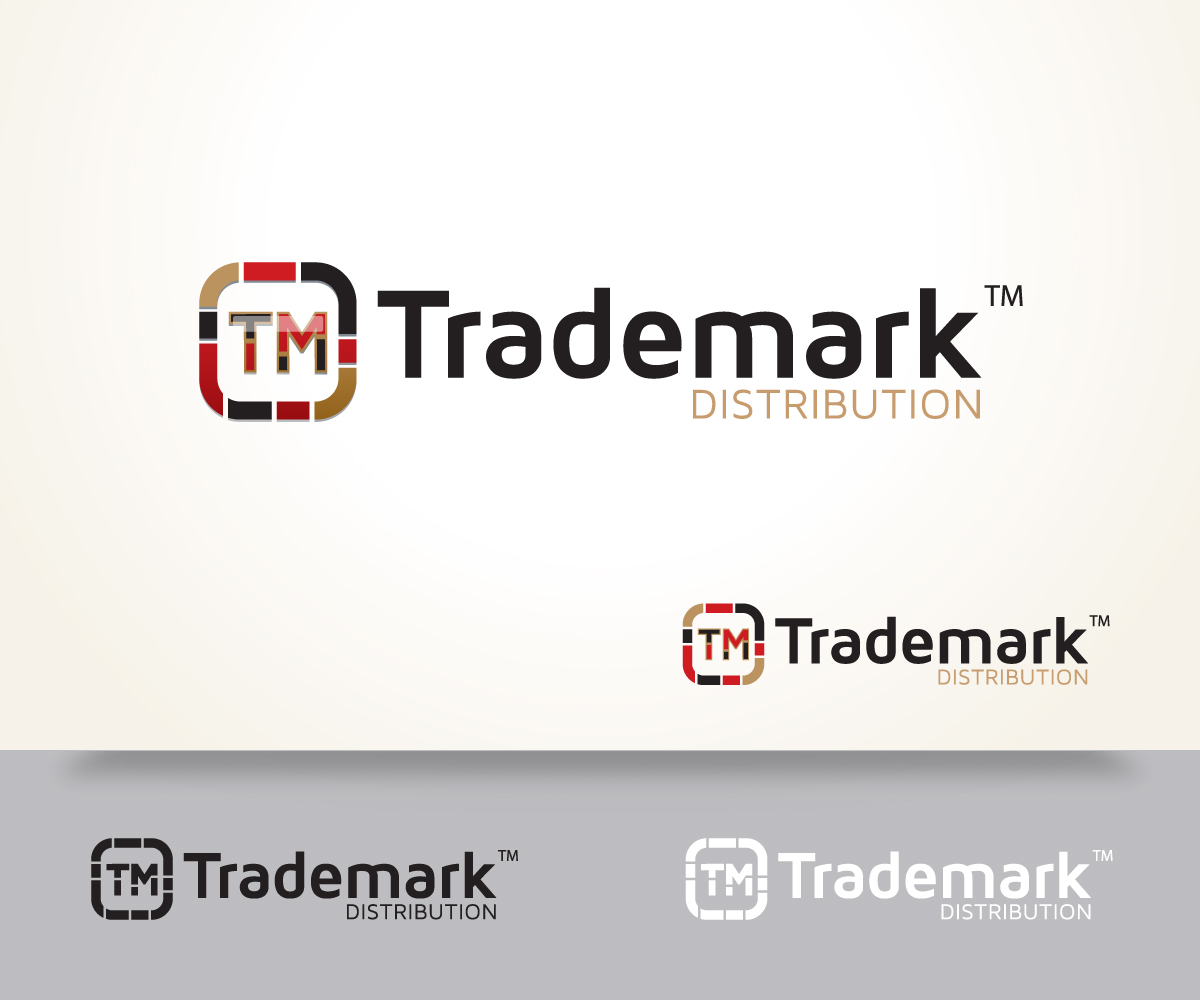 Trademark Distribution logo design.