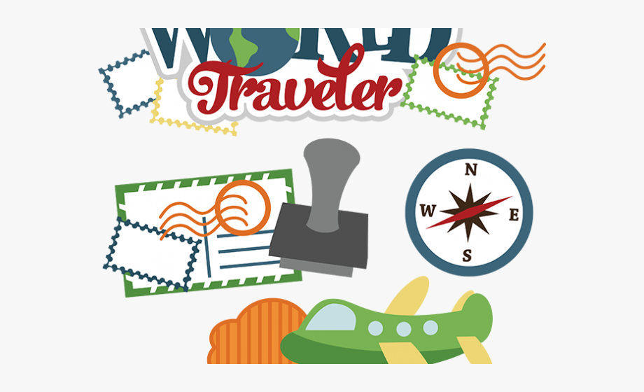 We Present To You A Travel Clipart Traveller.