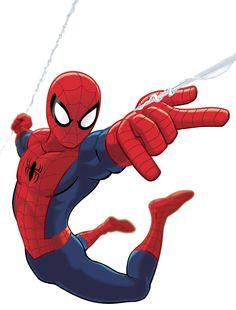 Spiderman Clip Art (free).