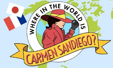 Carmen Sandiego Clipart.