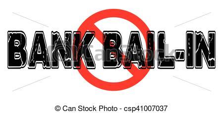 Vectors of Ban Bank Bail.