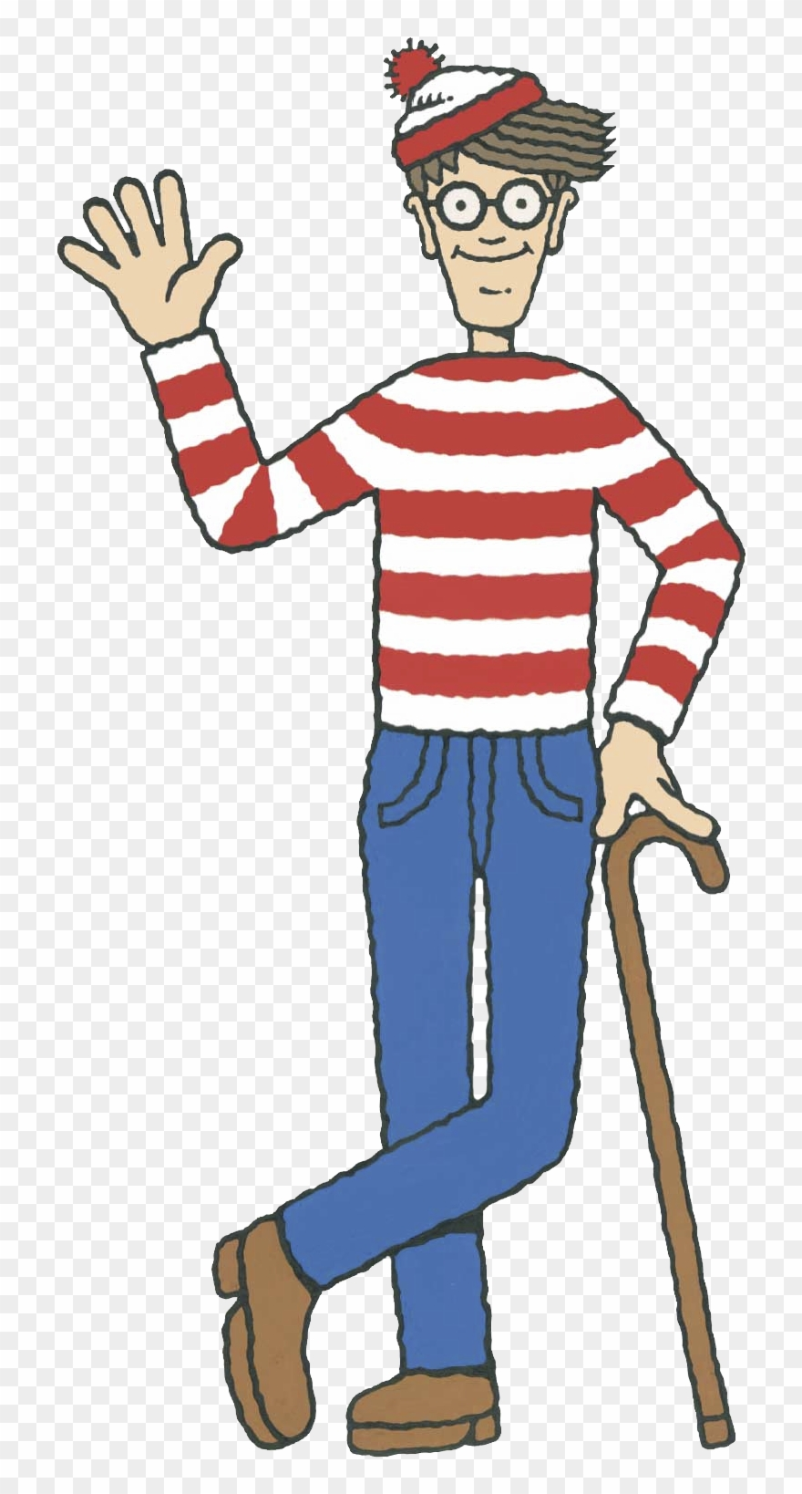 Waldo Clipart.