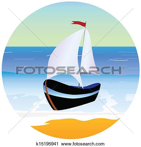 Sail boat Clip Art Illustrations. 15,616 sail boat clipart EPS.