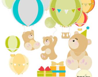 80% OFF Sale Balloon Clipart, Balloon Clip Art, Birthday Clipart.