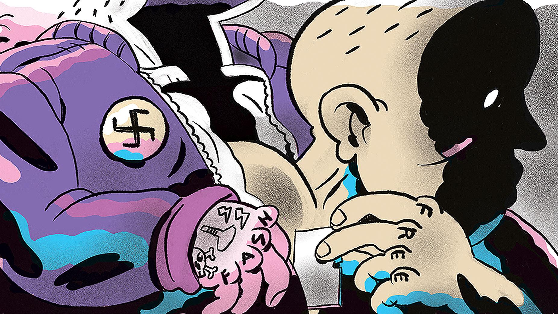 I Was a Black Nazi Skinhead.