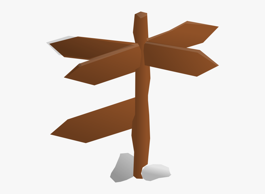Direction Sign Clipart.