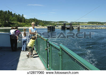 Stock Photography of Keystone, WA, Washington, Puget Sound.