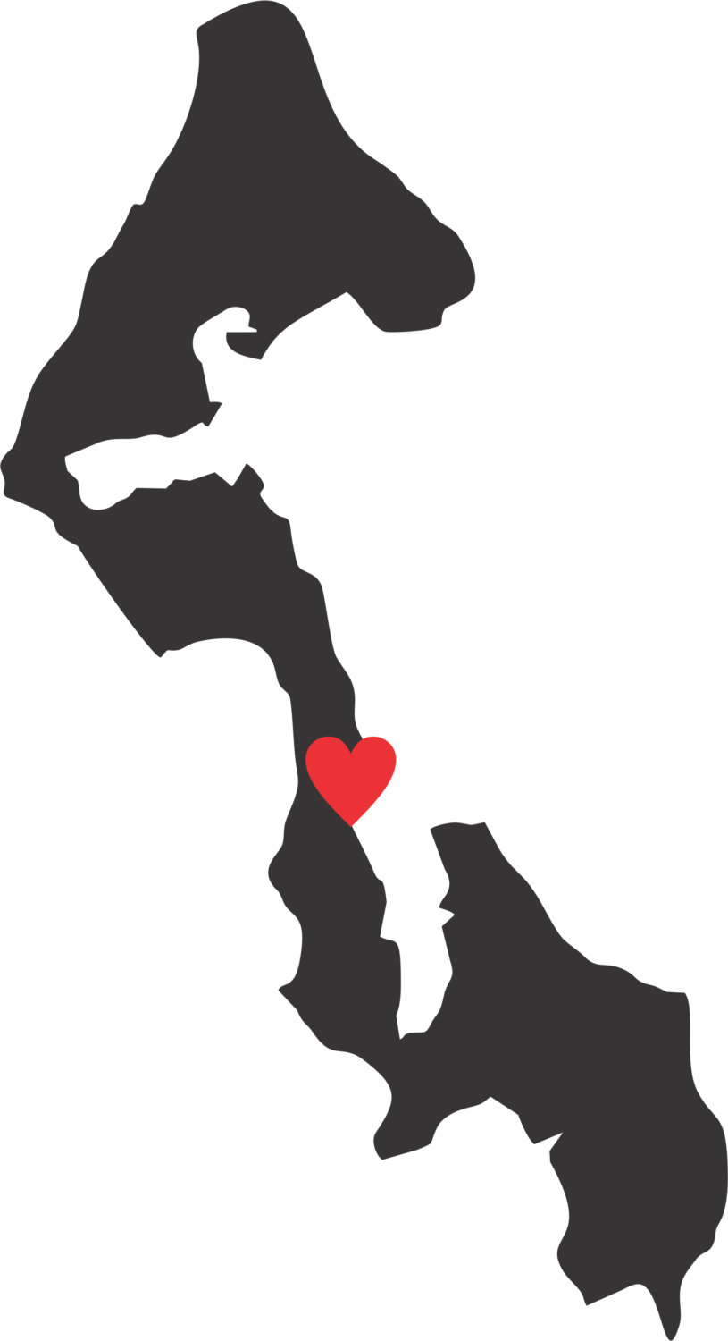Whidbey Island Decal with Heart by Stickernaut on Etsy.