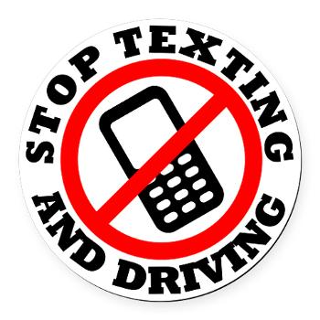It Can Wait Texting While Driving Clipart.