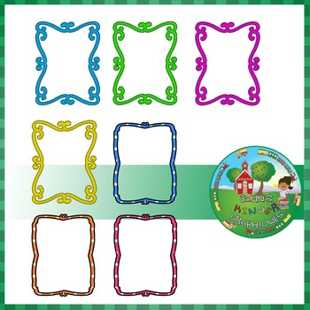 Whimsical Frames Clipart.