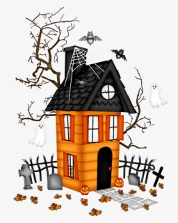 Free Cute House Clip Art with No Background.
