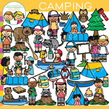 Camping Clipart Worksheets & Teaching Resources.