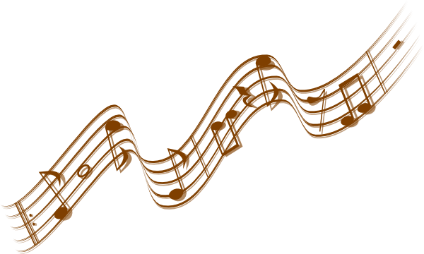 Whimsical Music Notes Transparent & PNG Clipart Free.