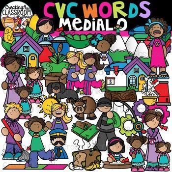 CVC Words Clipart.