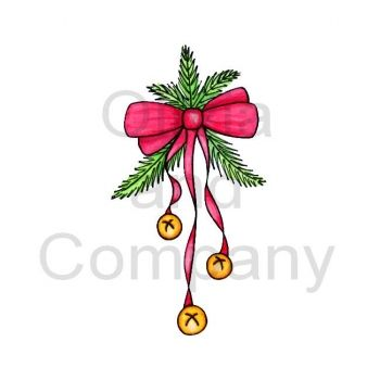 Jingle Bells With Red Bow.