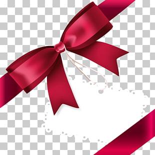 Ribbon Red Fine Ribbon Bow Sublime Whimsical Ribbon.