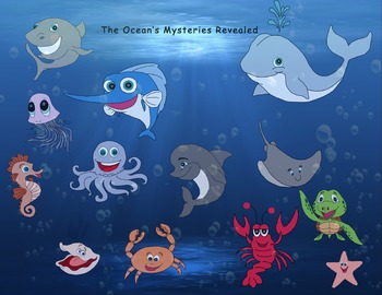 Clipart: Sea Life.