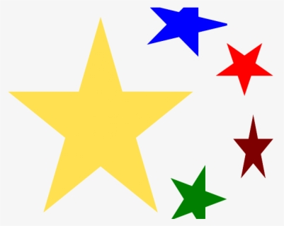 Free Stars On Transparent Background Clip Art with No.