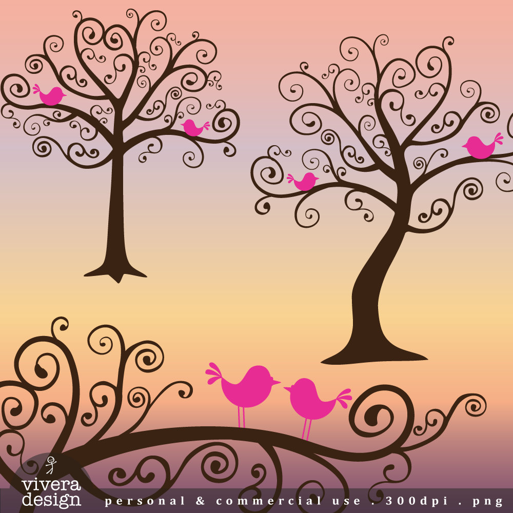 Whimsical Tree Clip Art Clipart Best.