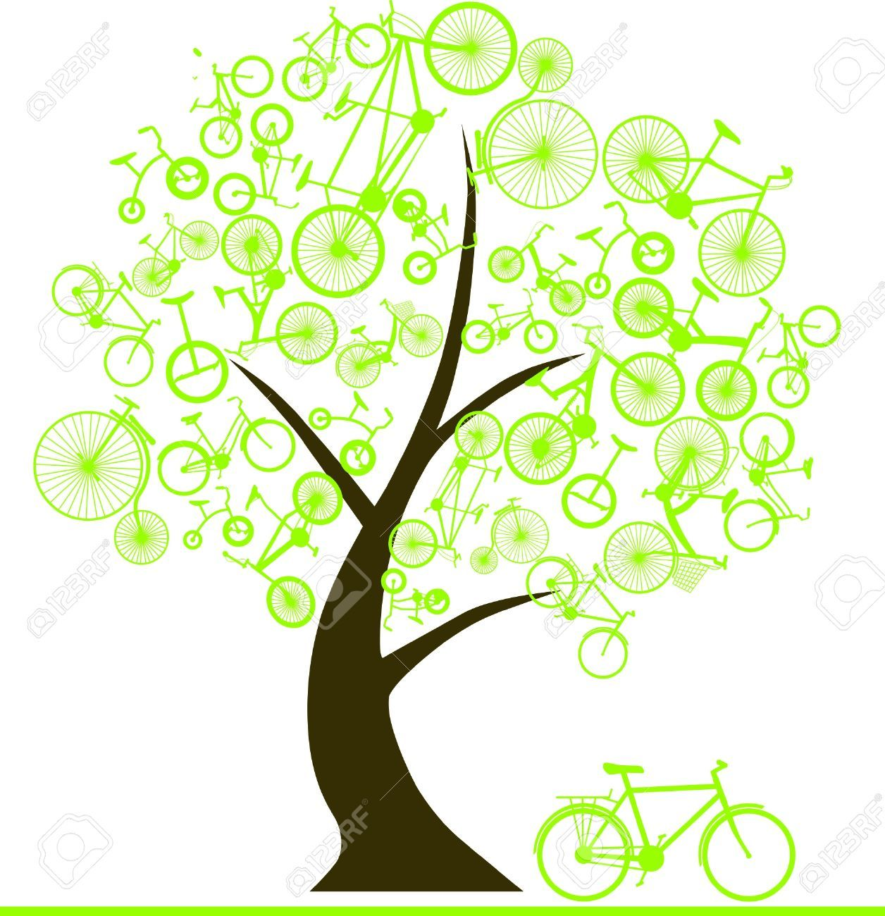 46+ Free Whimsical Tree Clipart.