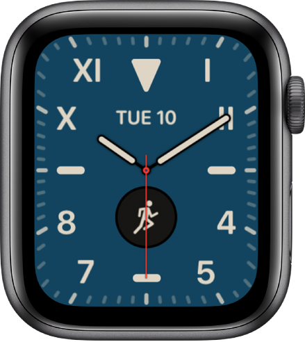 Apple Watch faces and their features.