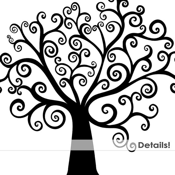 58386 Tree free clipart.