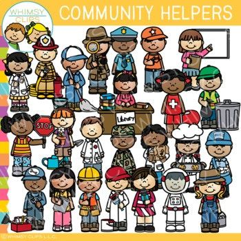 Community Helpers Clip Art.
