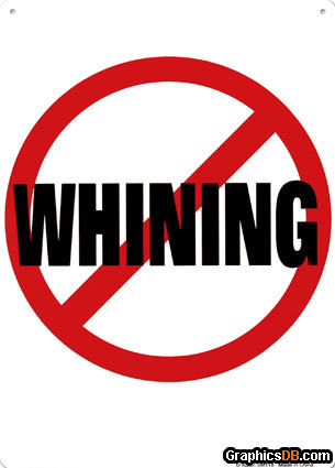 Whining Clipart.