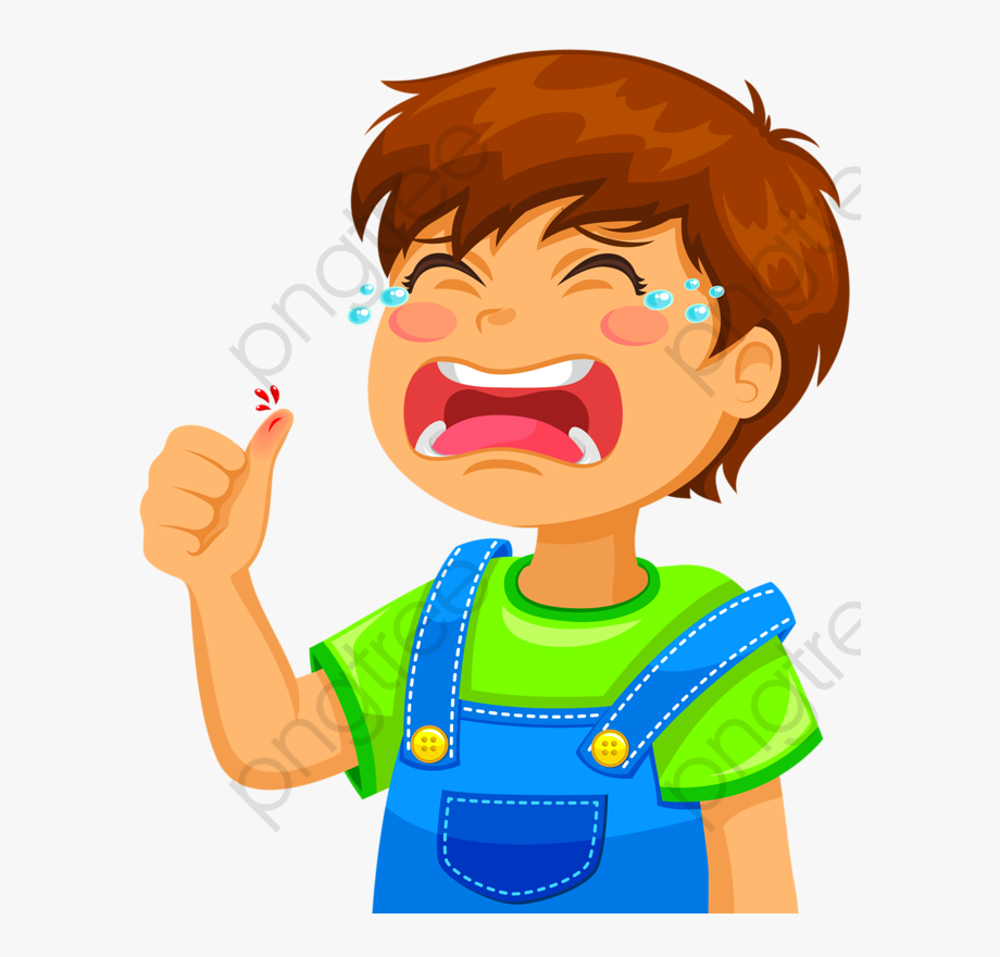 Crying Boy Clipart.