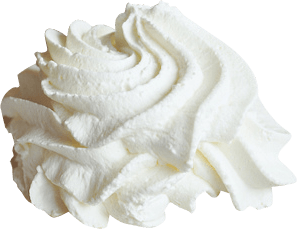 Whipped Cream transparent PNG.