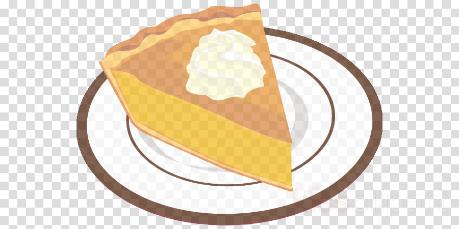 food dish whipped cream pie pumpkin pie clipart.