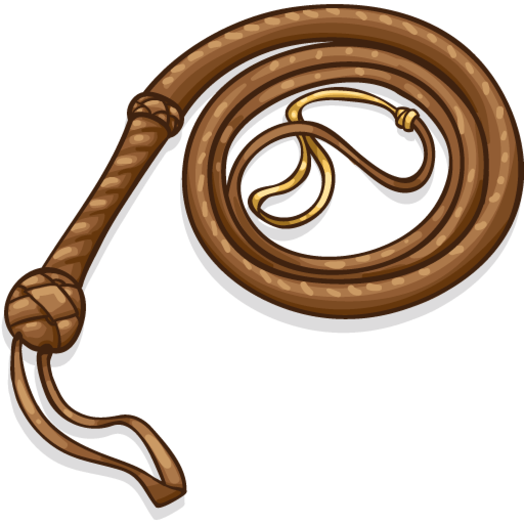 Whip Clipart transparent PNG.