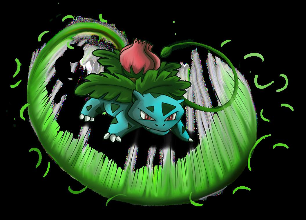 Ivysaur Vine Whip by shinragod on DeviantArt.