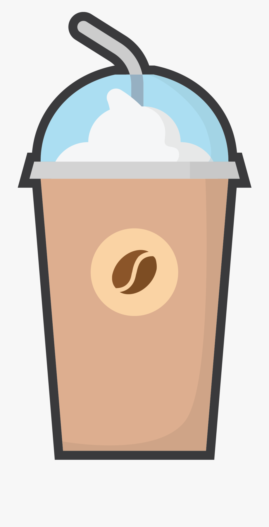 Frappe W/ Whipped Cream.