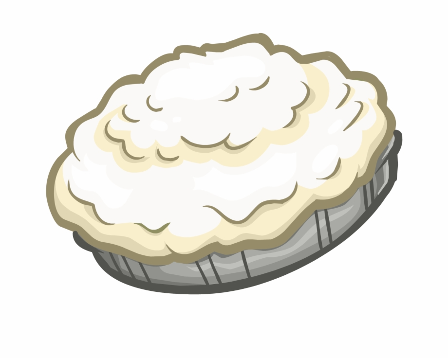 Pie Png Whip Cream Pie Transparent Background.