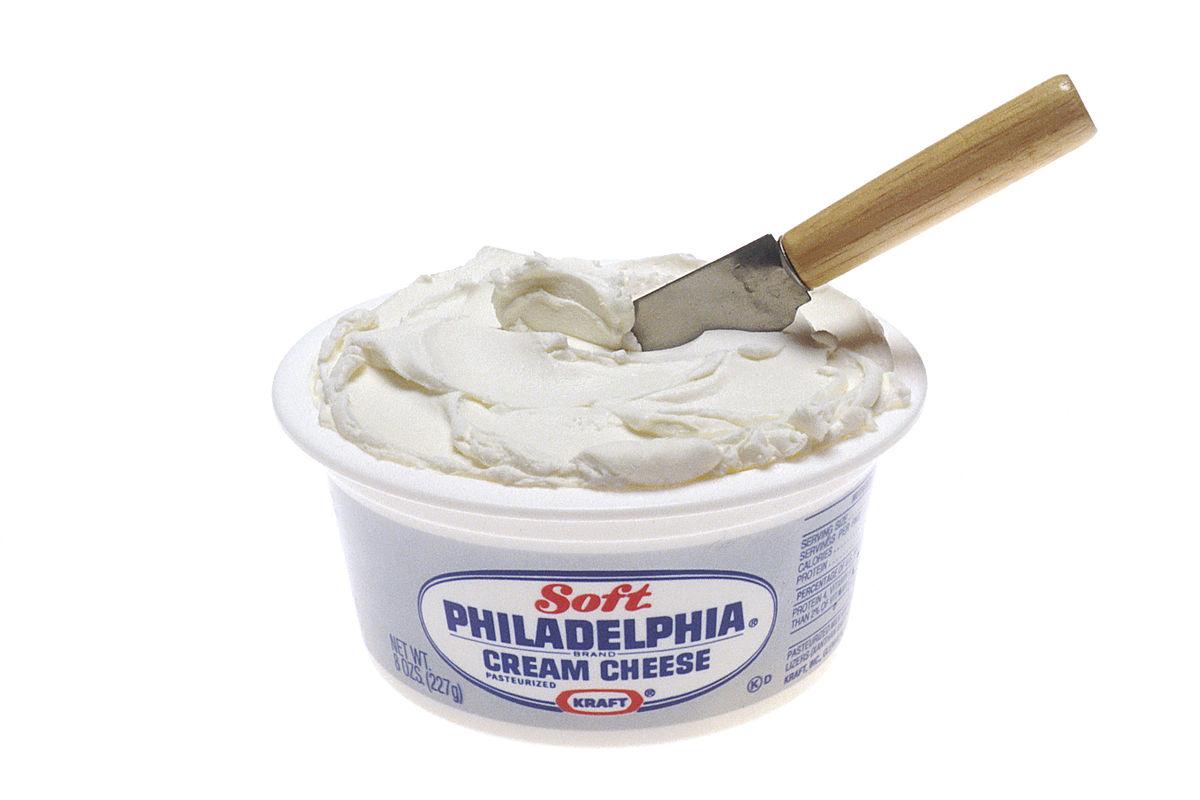 Cream cheese.