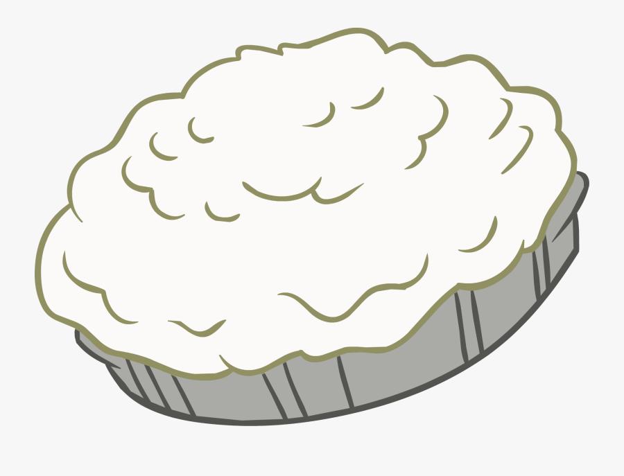 Pie Clipart Whip Cream Pie.