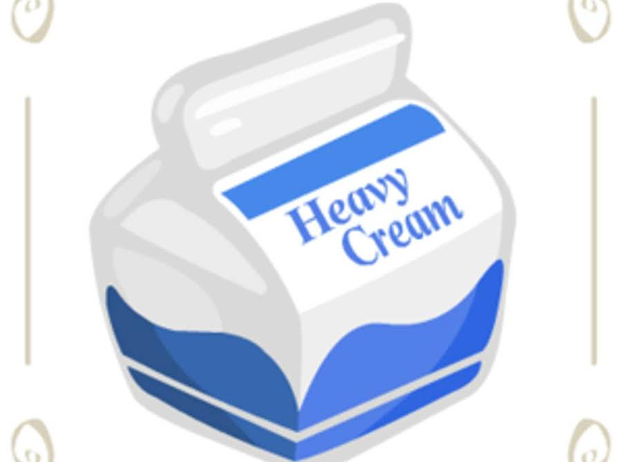 Whipped Cream Can Clipart.