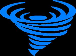 Tornado Whirl PNG, SVG Clip art for Web.