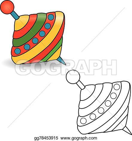 Whirligig Clip Art.
