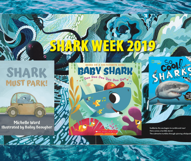10 Books Your Kids Will Sink Their Teeth into for Shark Week.