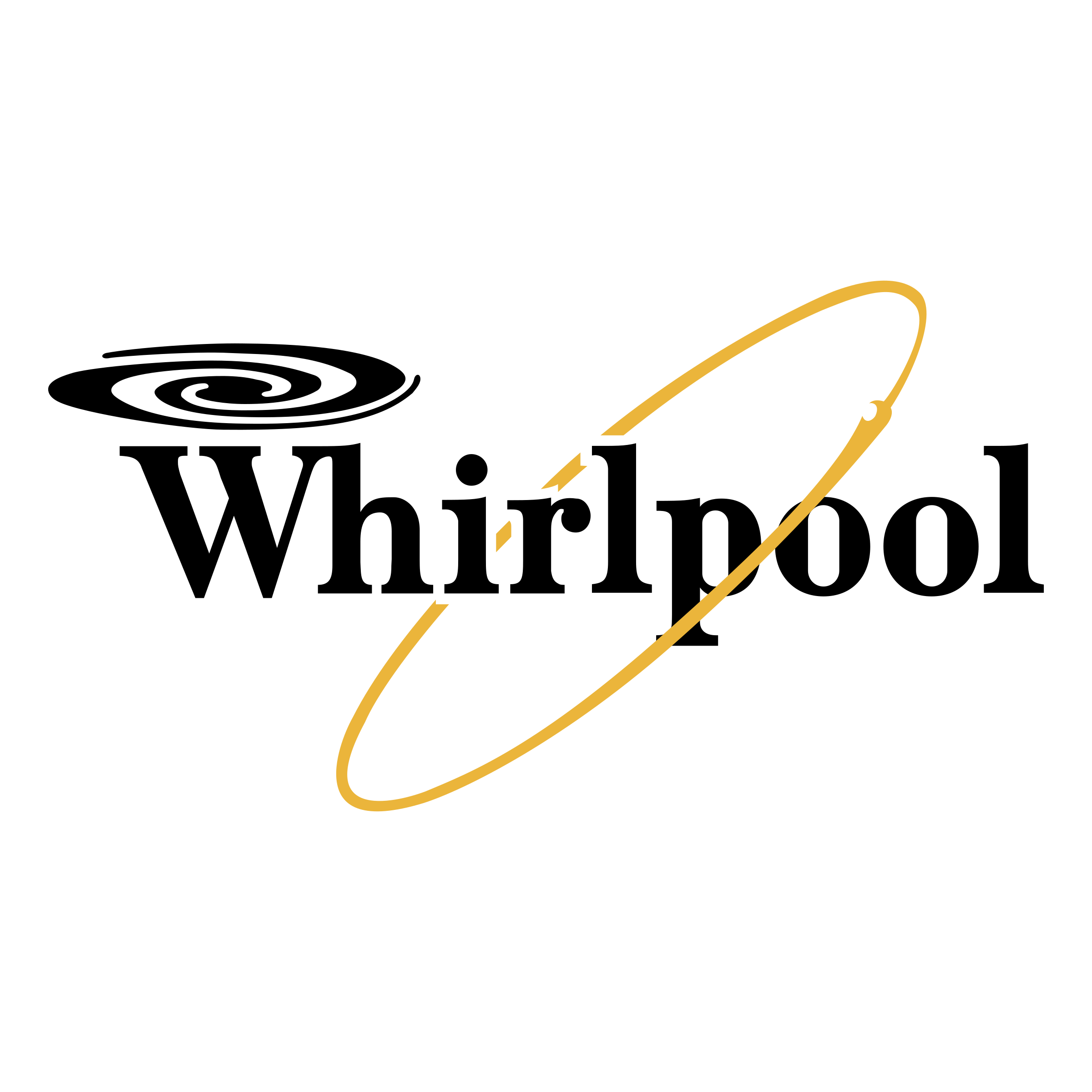 Whirlpool Logo transparent PNG.