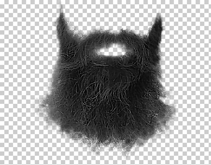 Beard Whiskers Moustache Goatee, Beard, bear illustration.